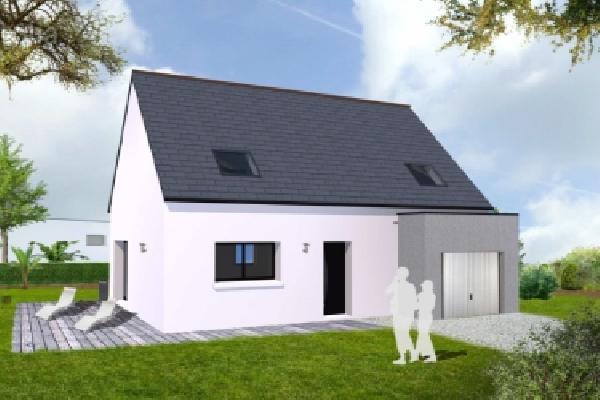 terrain+maison Plozévet 167000€