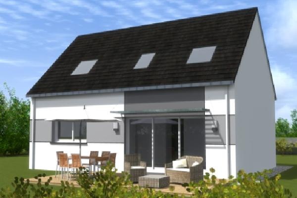 terrain+maison Saint-Évarzec 172900€