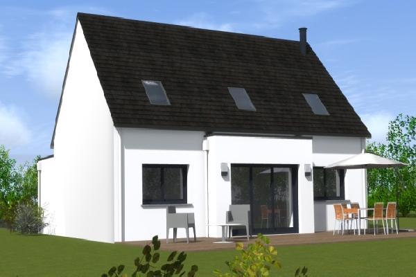 terrain+maison Tréméoc 189900€