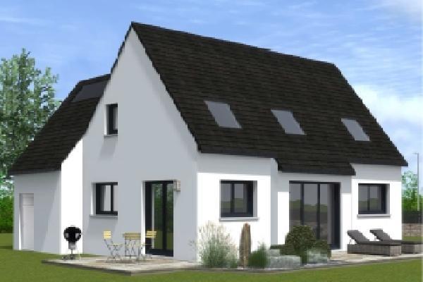 terrain+maison Pleyben 193900€