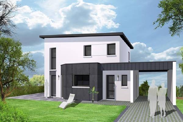 terrain+maison Plozévet 244500€