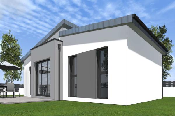 terrain+maison Saint-Yvi 196000€