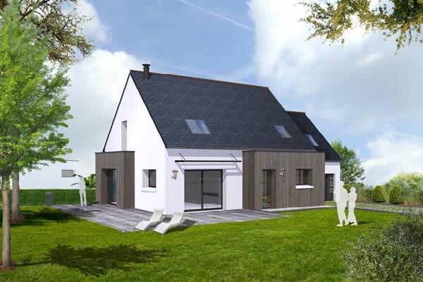 terrain+maison Loctudy 209500€