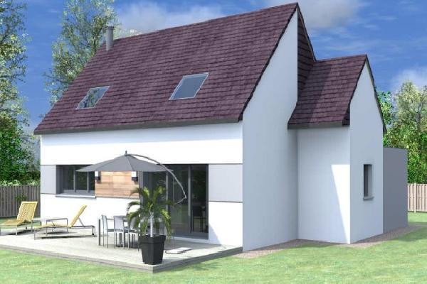 terrain+maison Saint-Évarzec 210000€