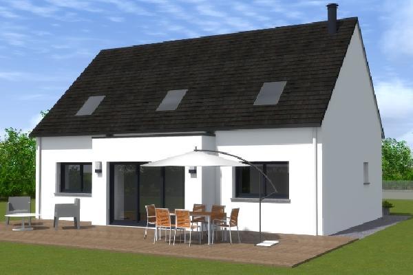 terrain+maison Audierne 189000€