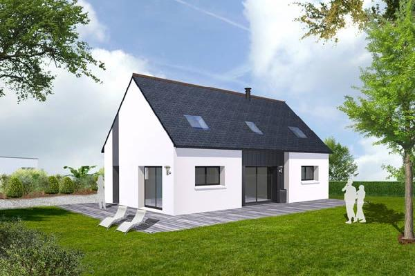terrain+maison Pluguffan 226000€