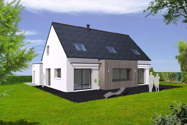 terrain+maison Clohars-Fouesnant 259000€