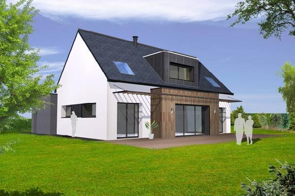 terrain+maison Pencran 249000€