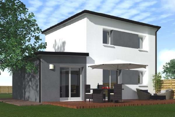 terrain+maison Saint-Renan 197000€