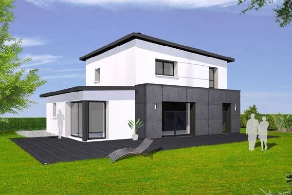 terrain+maison Inzinzac-Lochrist