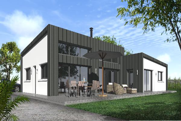 terrain+maison Carantec 290000€