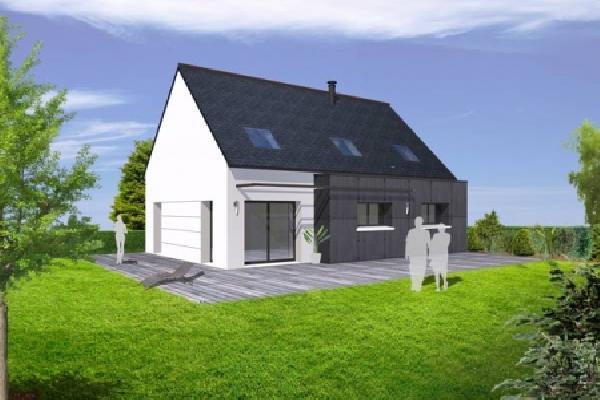 terrain+maison Lannilis 197000€
